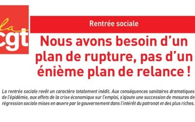 Nous avons besoin d'un plan de rupture, pas d'un énième plan de relance !