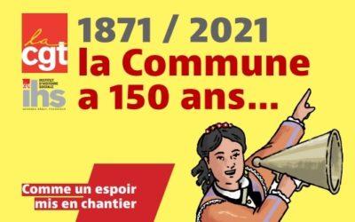 1871/2021, la commune a 150 ans : comme un espoir mis en chantier